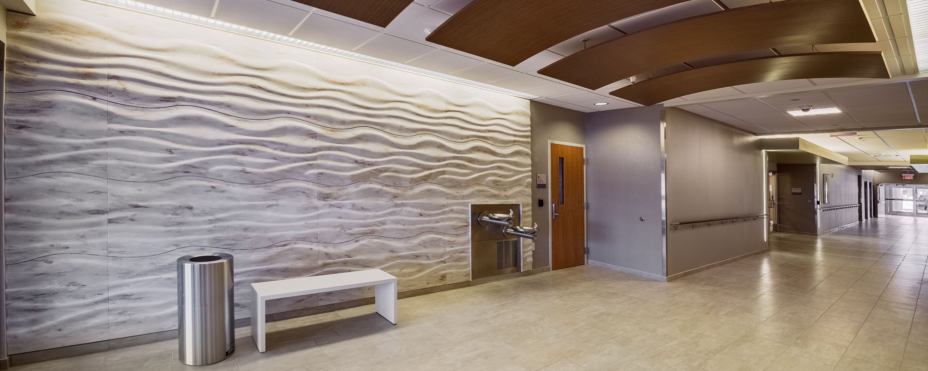 textured-wall-panels-in-health-care-facility