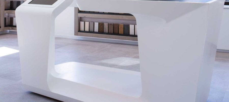 Retail Solid Surface Fixture