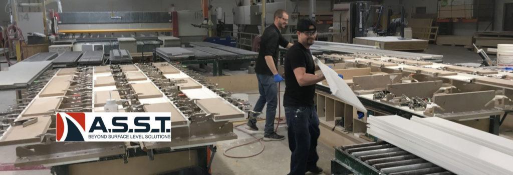 ASST Employees on Shop Floor