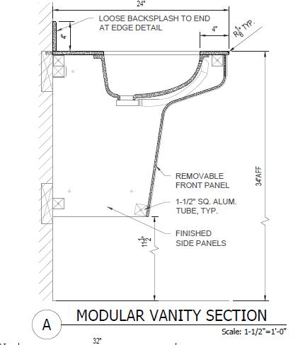 modular vanities