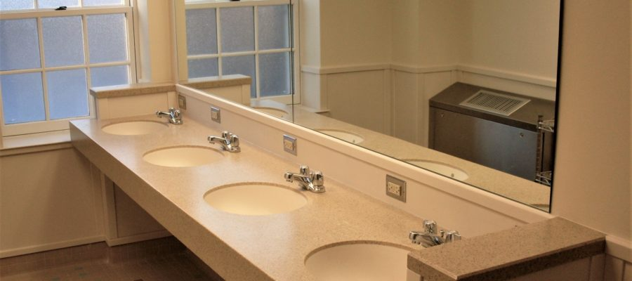 University of Maryland Solid Surface Bathroom Project