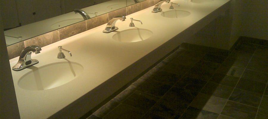 Flush Mount Sink